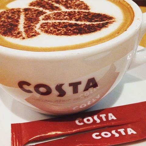 Hello Friday! Costa Coffee #MyMorningHasBroken #CostaCoffee