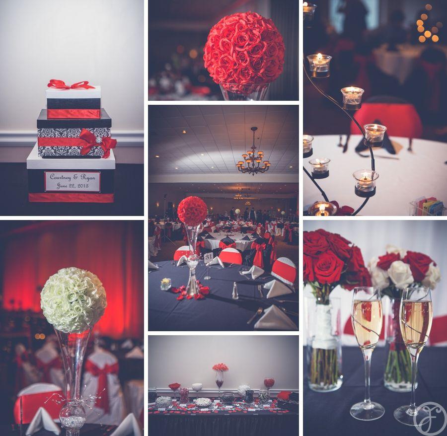 courtney ryan married the falls columbia il white weddings reception red wedding wedding pinterest