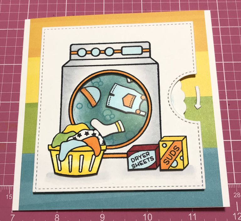Tutorial For Lf Laundry Reveal Wheel With Images Lawn Fawn
