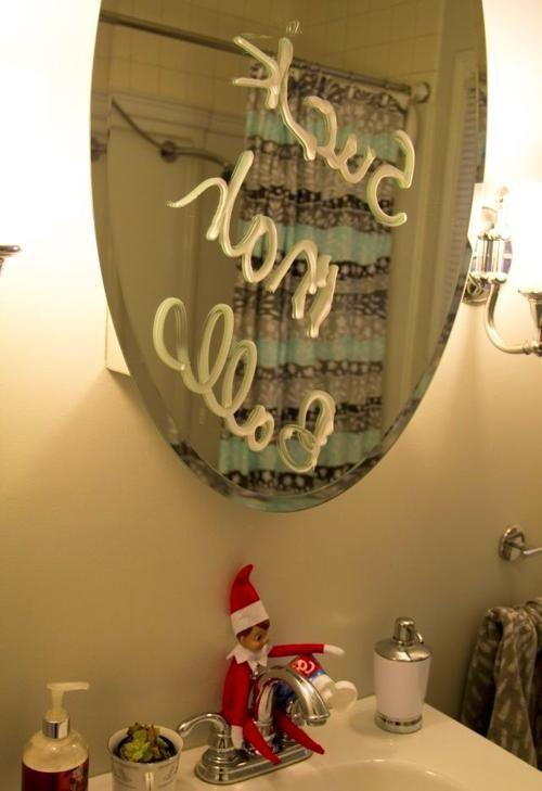 #Elf #Funny #Hilarious #Ideas #Shelf adult elf on the shelf ideas 30 Shades of Elf on the Shelf | Stay At Home Mum #elfontheshelfideasfunnyhilarious