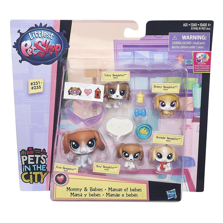 Littlest Pet Shop Beagle Family Little Pet Shop Toys Pet Shop