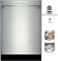 Bosch Ascenta Shx4at75uc 24 Dishwasher With 14 Place Setting