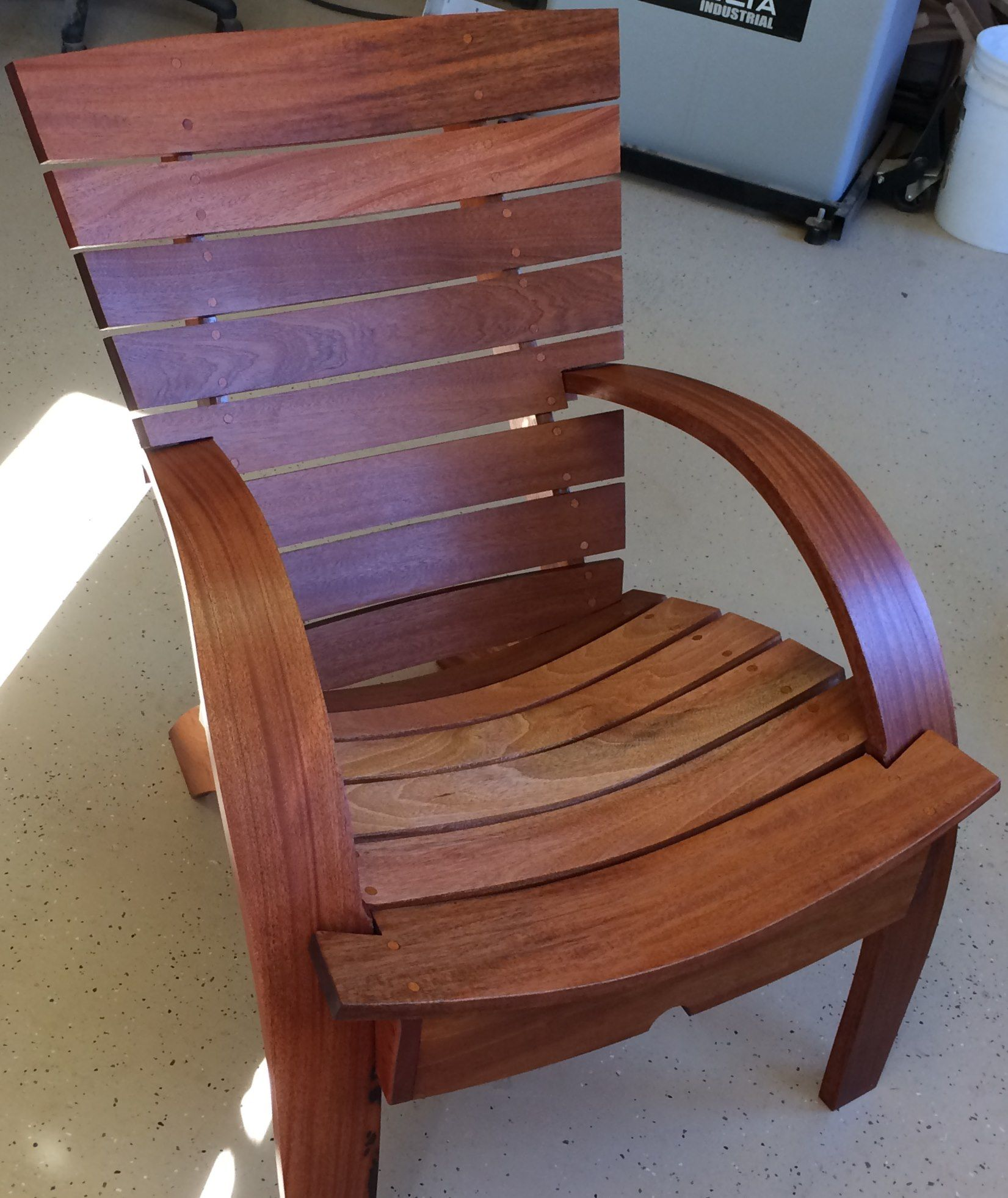 My Garden Chair Reader s Gallery Fine Woodworking