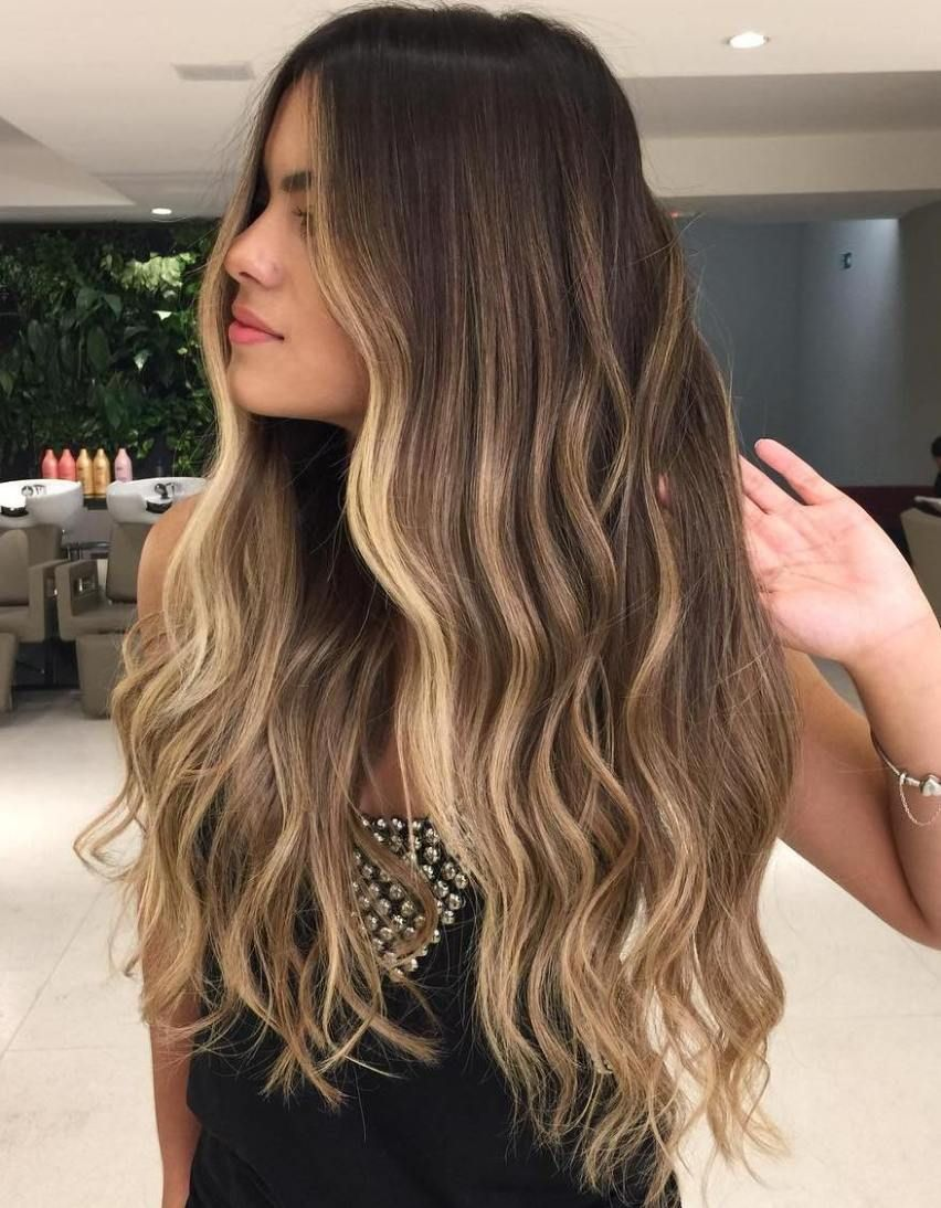 20 Best Face Framing Highlights For Every Face Shape Brown Blonde Hair Hair Highlights Long Brown Hair