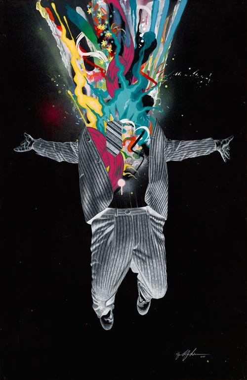 """Acid Over Easy"" by Portland-based artist Zach Johnsen"