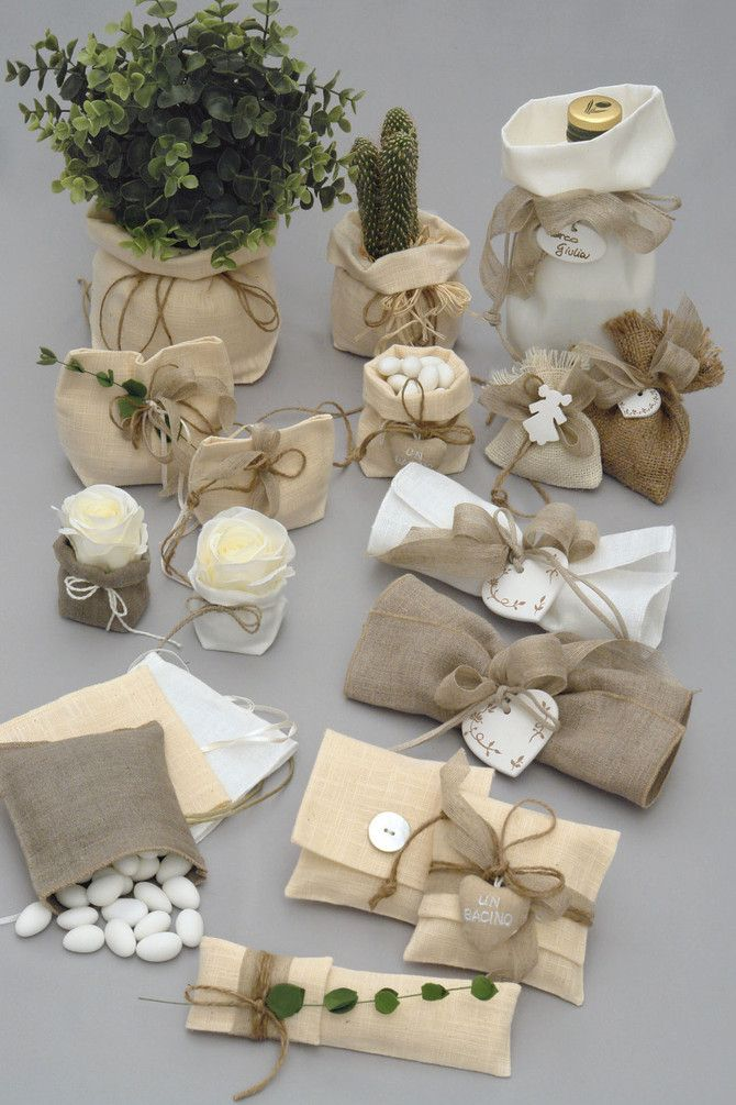 Matrimonio Rustico Bomboniere : Portaconfetti benvenuti su valentina bomboniere e