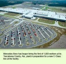 Mercedes Benz Tuscaloosa County(Vance),AL Has Begun Hiring The First 1,000  Workers For The All New C Class Plant Which Is Located By The M Class Plant  In ...