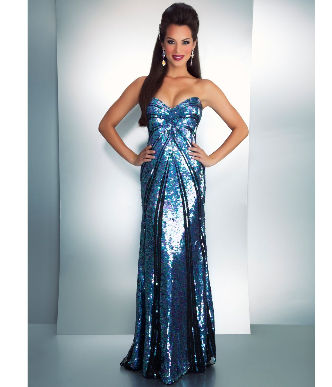 Sparkly prom dress | Prom dresses | Pinterest | Sparkly prom dresses ...