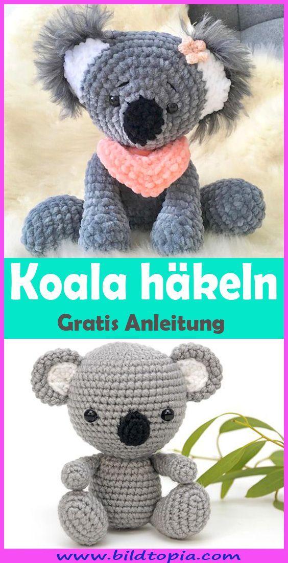 Photo of Häkeln Koala – freies Muster in Deutsch