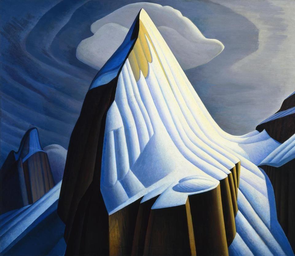 "Lawren Harris's ""Mt. Lefroy.''"