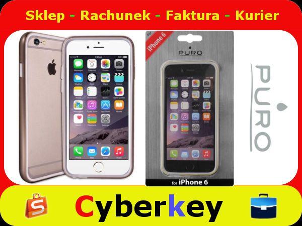 Puro Bumper Cover Iphone 6 Gold 5183827549 Oficjalne Archiwum Allegro Iphone 6 Gold Iphone 6 Iphone