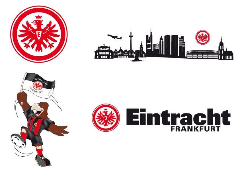 Eintracht Frankfurt Wandtattoo
