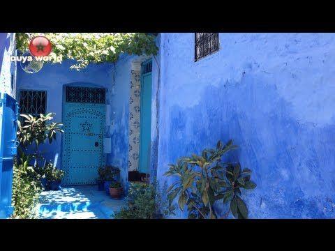 ▶ 【youya world】Chefchaouen(Morocco) シャウエン(モロッコ) - YouTube