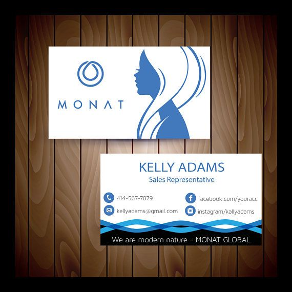 monat business cards monat custom business card monat global card monat sales representative personalized cards print your own 0159 - Custom Business Cards Near Me