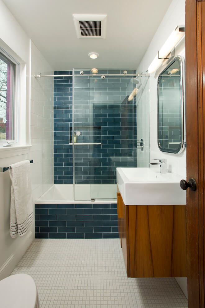 44 Modern Shower Tile Ideas and Designs for 2020 ...