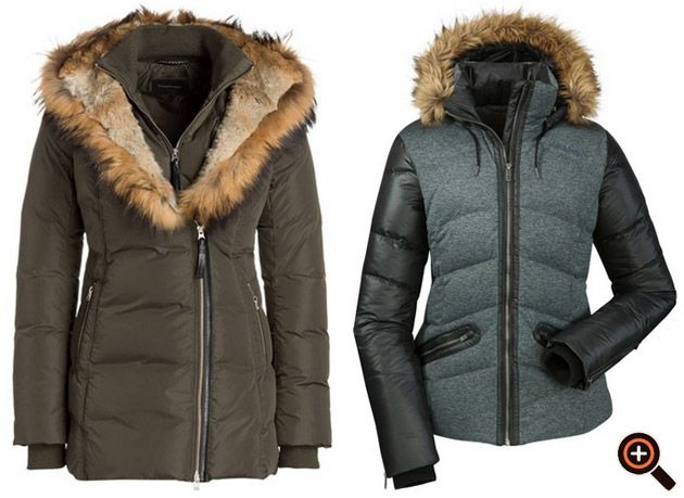 Damen winterjacken designer