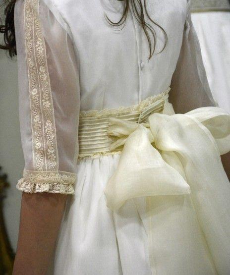 Fajin vestido comunion