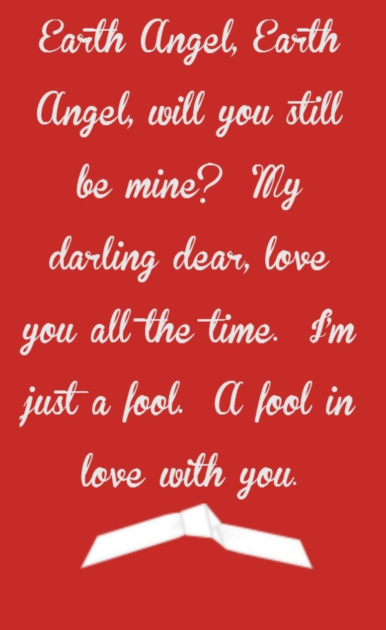 The Penguins - Earth Angel (will You Be Mine) Lyrics ...