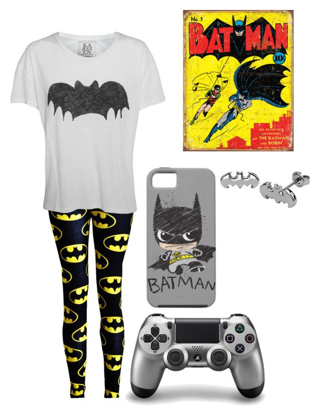 """Batman Games Marathon"" by starrydancer ❤ liked on Polyvore featuring Zoe Karssen, batman, fandom, comics, DC and dcuniverse"