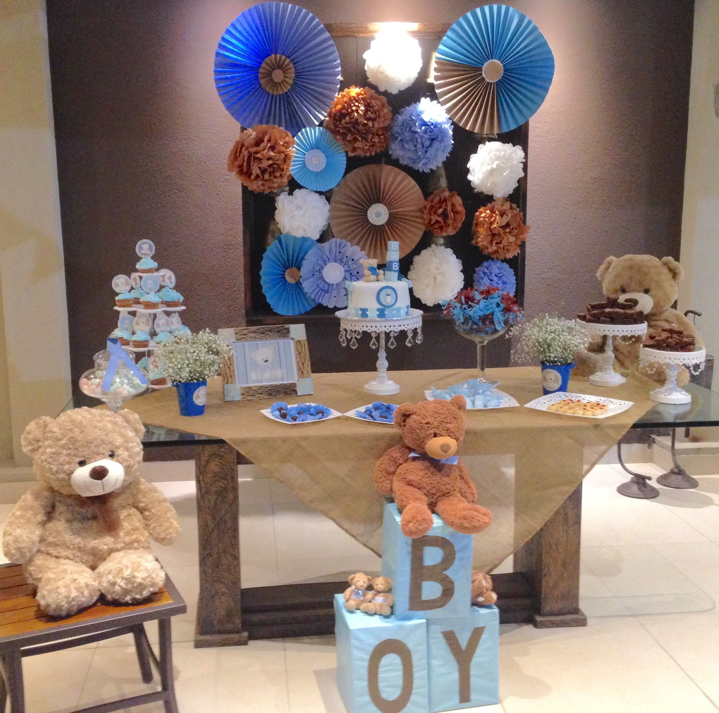 Ideas Baby Shower Nino Ositos.Baby Shower Ositos Ideas Teddy Bear