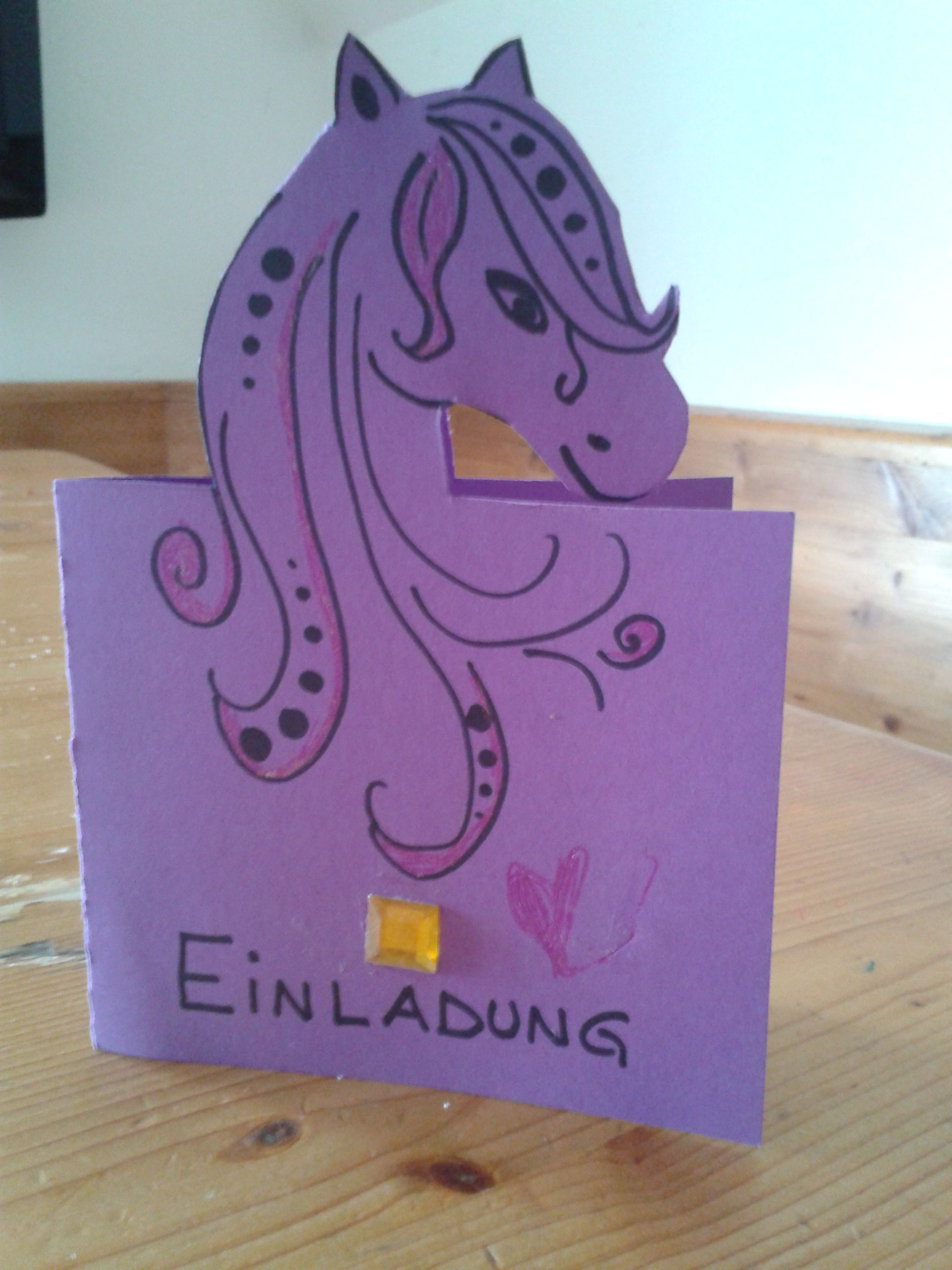 einladungskarten kindergeburtstag selber basteln bauernhof, Einladung