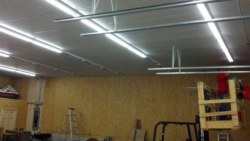 Corrugated Metal Garage Ceiling Beverly Pinterest Metal Garages Corrugated Metal And Ceiling
