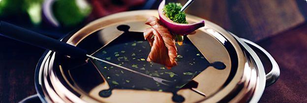 Beef and Red Wine Fondue #brothfonduerecipes Beef Broth Fondue. #brothfonduerecipes