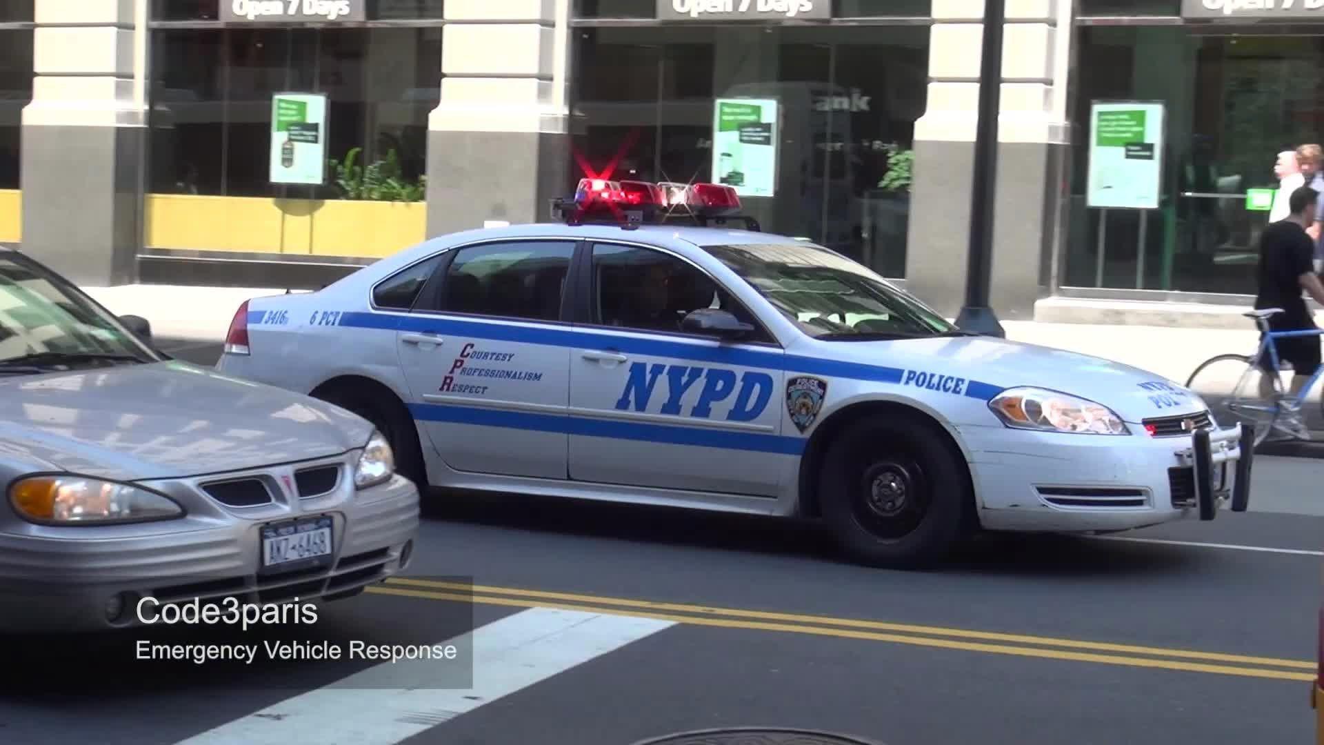 NYPD Police Car [rumbler] (+afspeellijst)
