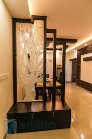 Image result for wooden partition designs between living ...