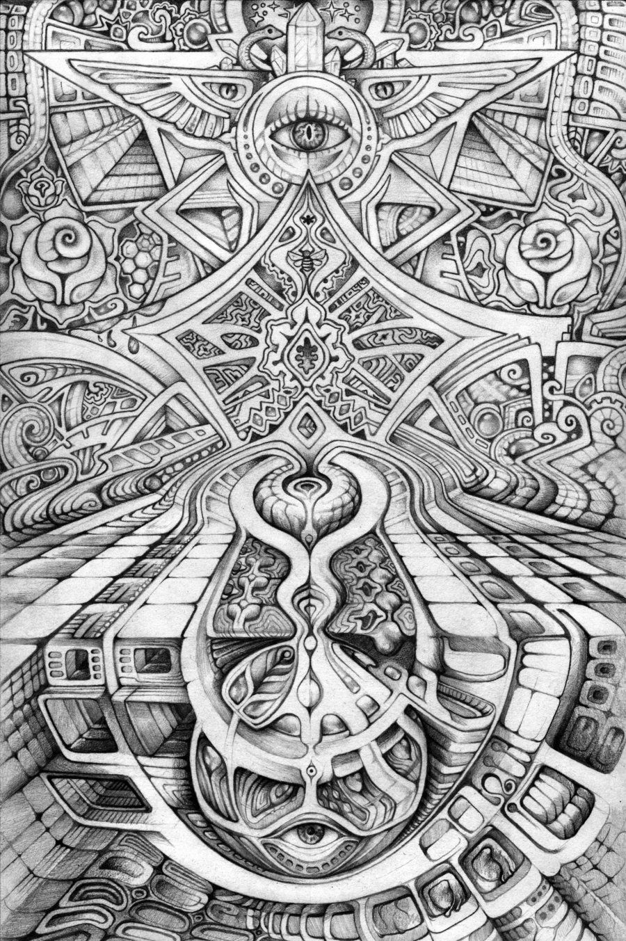 creation nexus by farboartdeviantartcom on deviantart coloring pagesadult - Psychedelic Coloring Pages For Adults