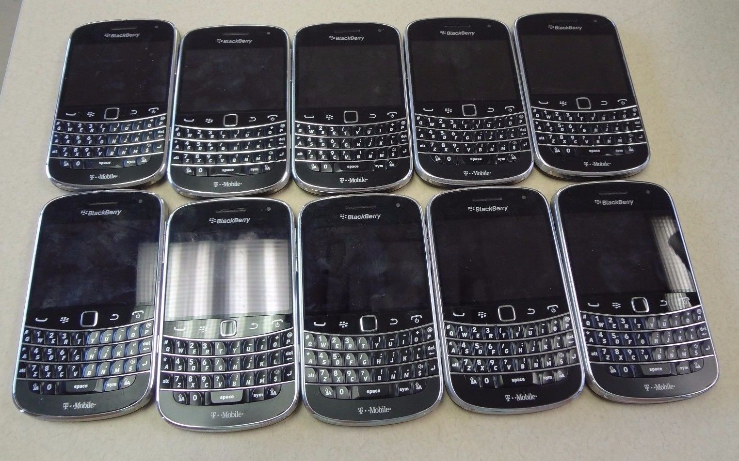 Lot of 10 BlackBerry Bold Touch 9900 Black Smartphone T- MOBILE  RDV71UW https://t.co/0t9dhCA3W0 https://t.co/pGdWKJefkd
