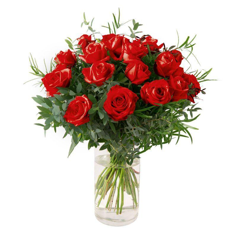 Envoyer Un Bouquet De 12 Roses Embleme Du Cœur La Rose Rouge