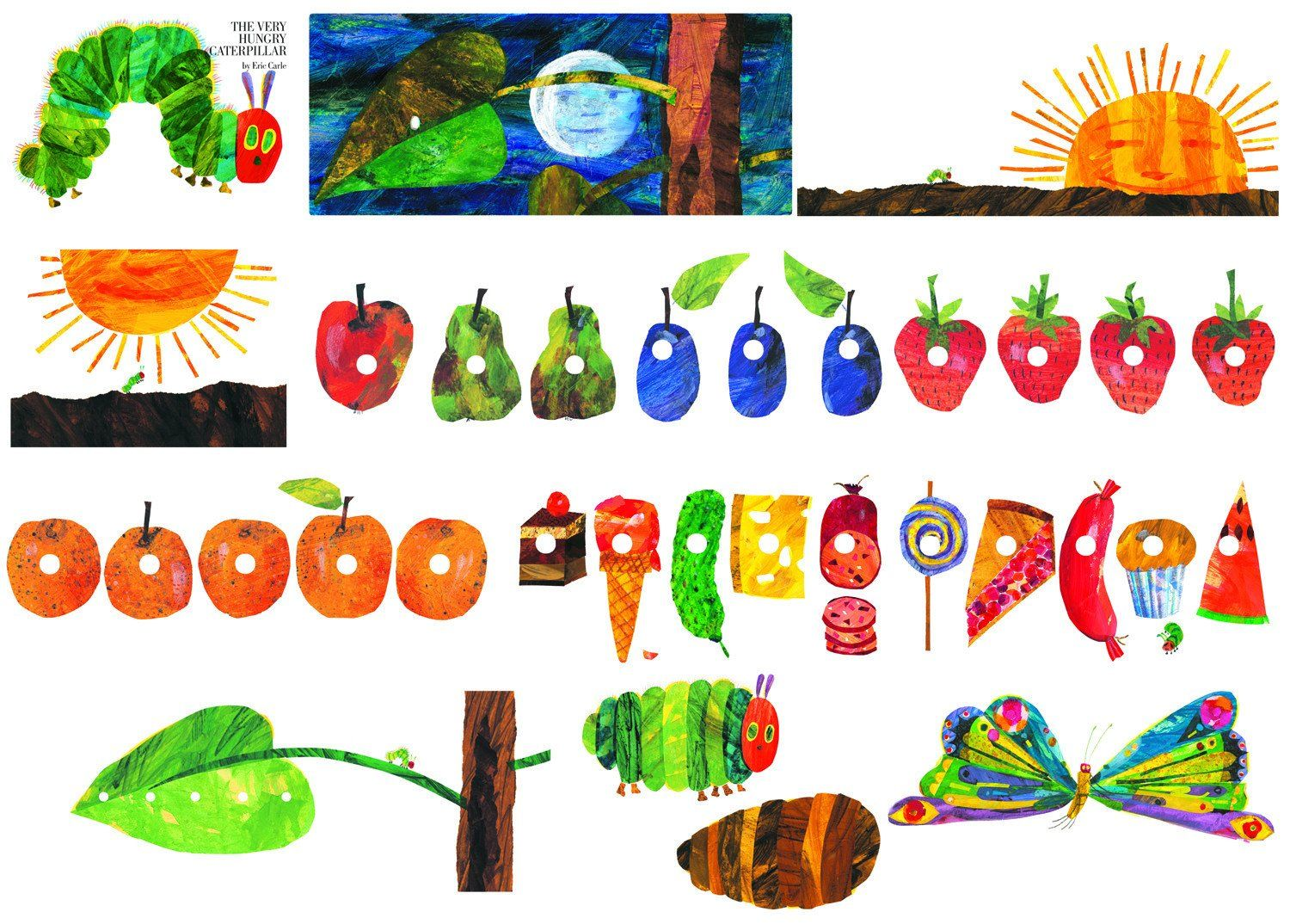 Image Result For Very Hungry Caterpillar Clipart Felt Boards