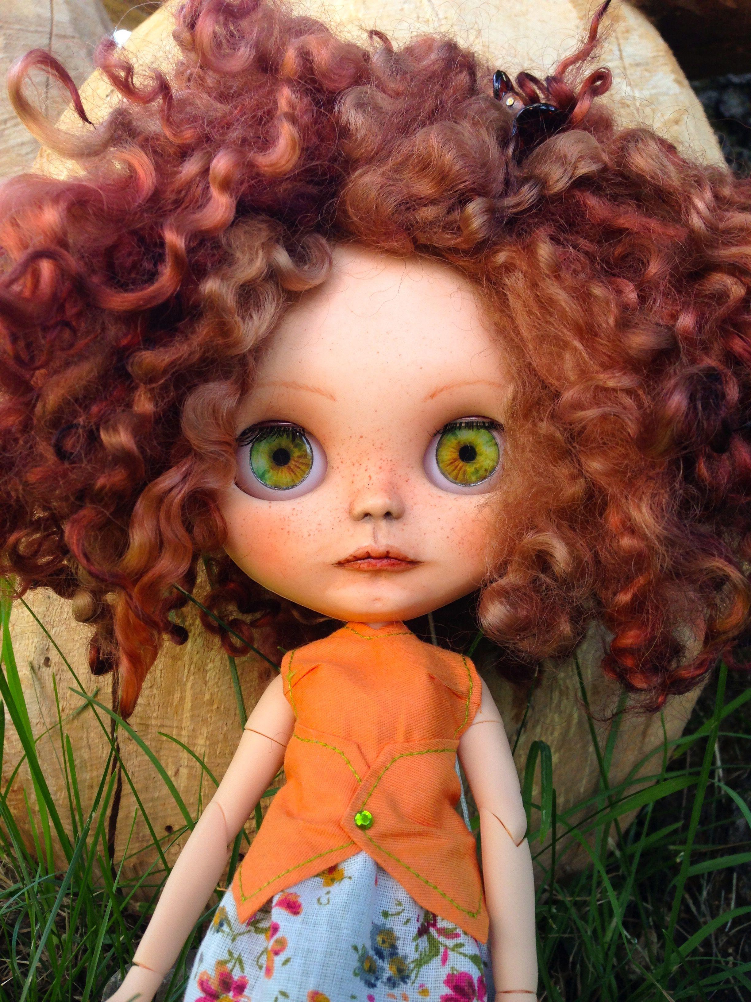 Blythe doll by vanessa blythe dolls kawaii doll cute dolls