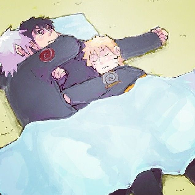 Im not a Kakashi/Yamato fan but this is too cute! | Naruto