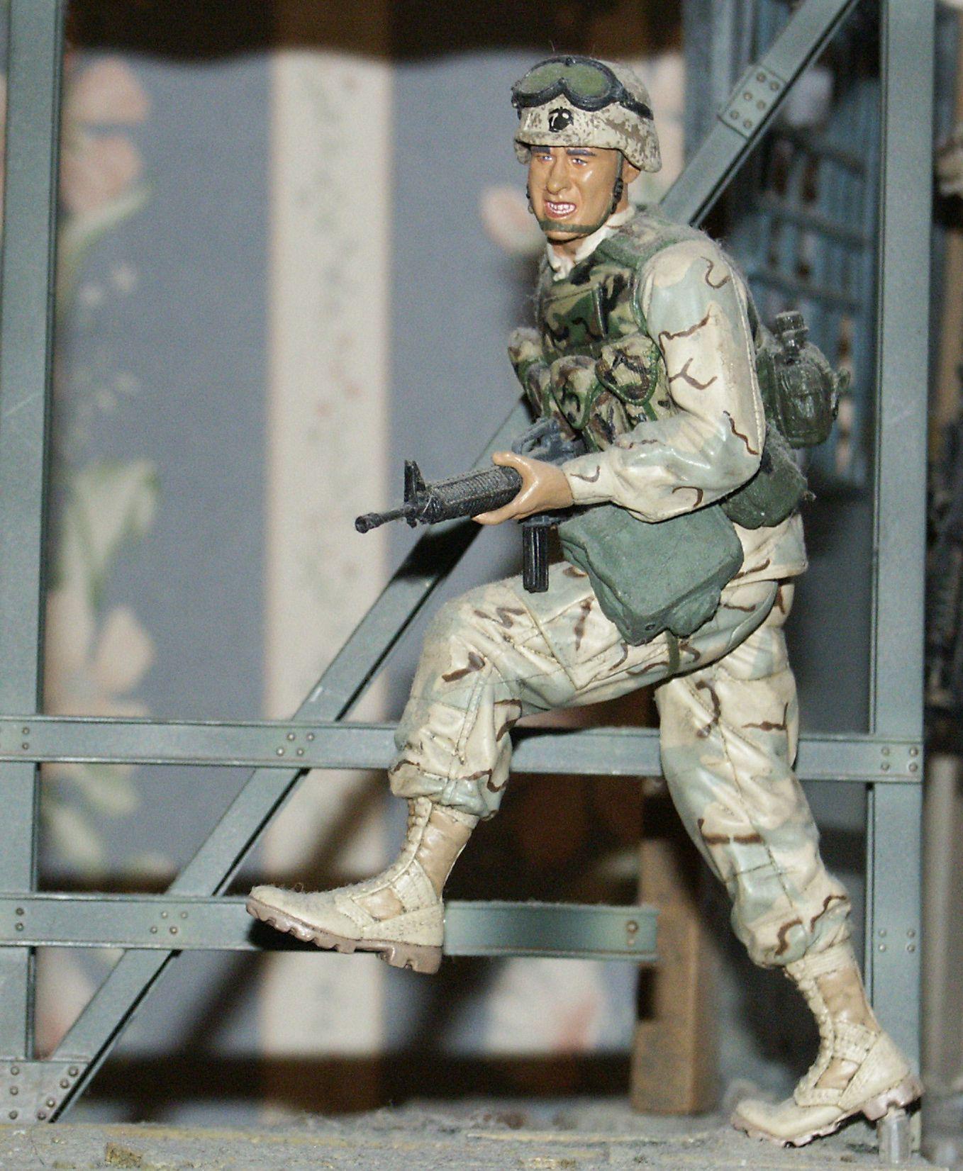 Dusty Trail U S Marine 1st Gulf War