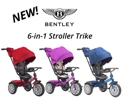 Bentley 6in1 Stroller Trike Bentley, Trike
