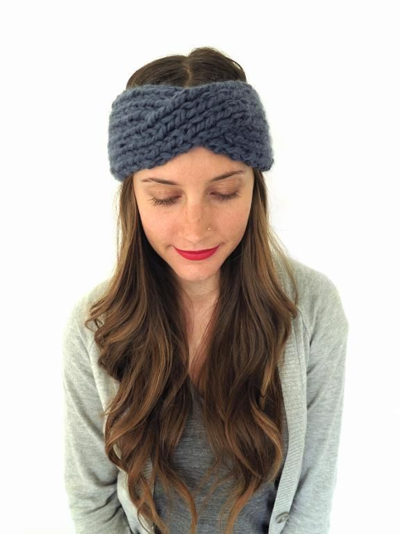 Hide Untamed Hair With Knit Headband Patterns Knitting Patterns