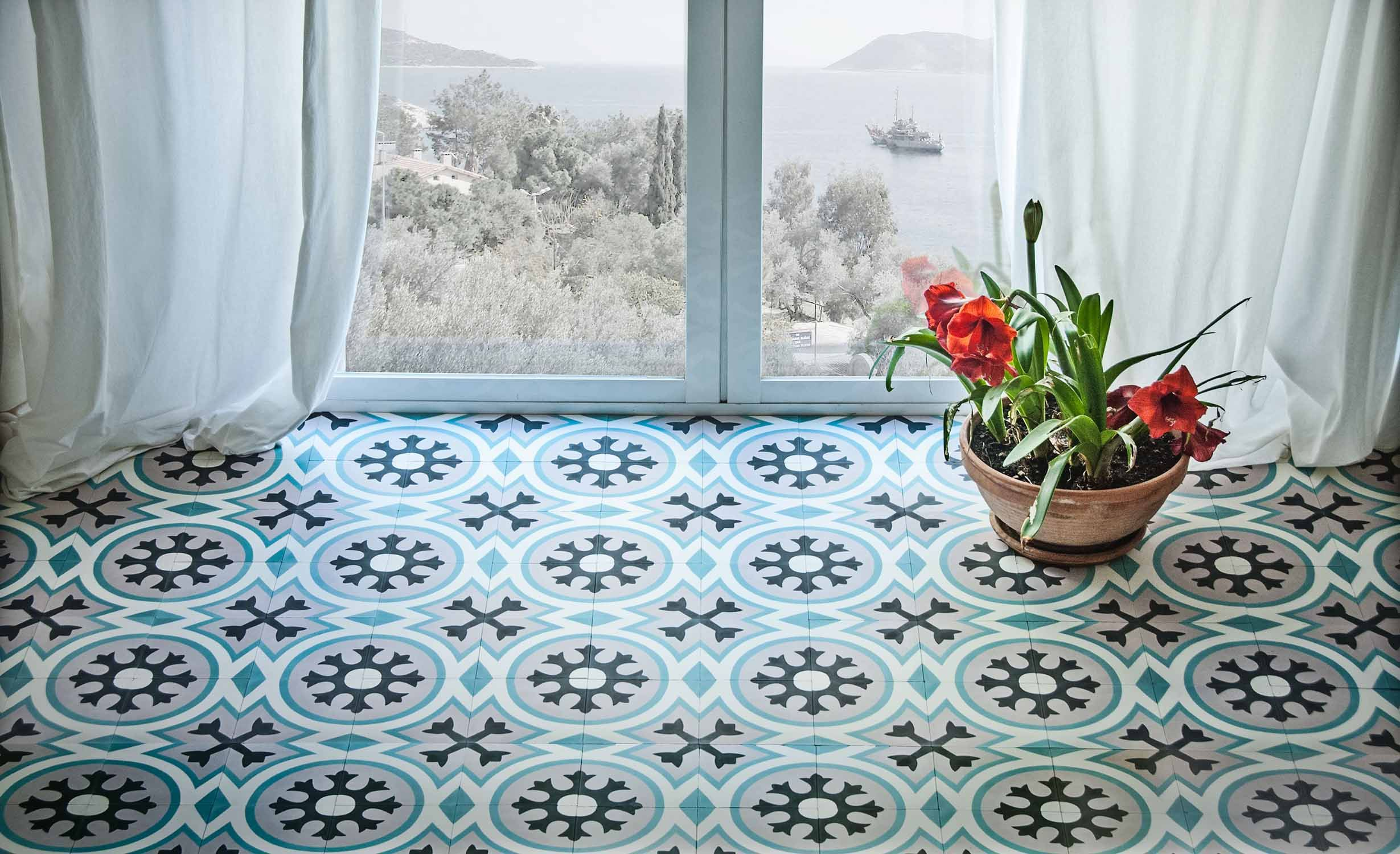 Cement tiles | For the Home | Pinterest | Cement, Tile flooring and ...