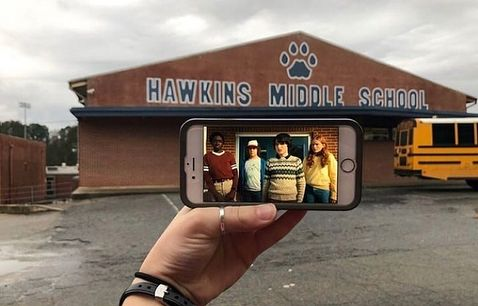Stockbridge Georgia Hawkins Middle School Stranger Things