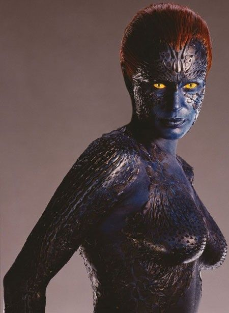 Dont Panic Co Uk The Leading Don T Panic Site On The Net Mystique Marvel Rebecca Romijn Mystique