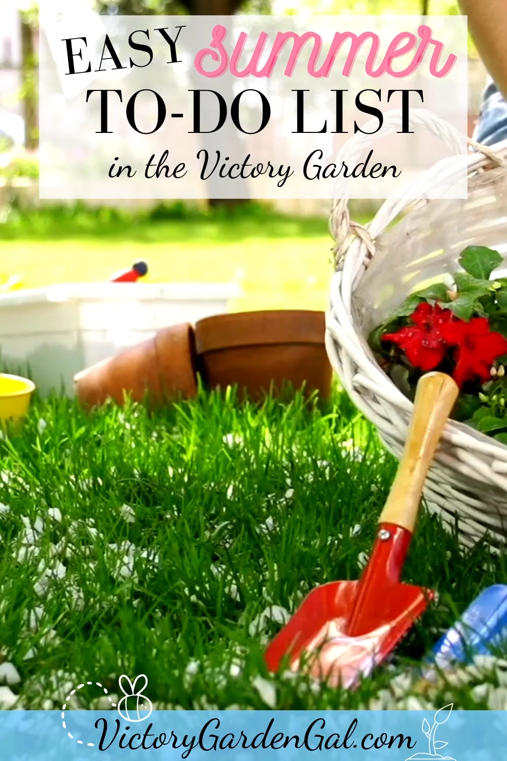Make Your Spring Garden Stretch Into Fall! Super Easy Summer To-Do's in the Victory Garden. 6 things to do that will increase your yield and keep your garden productive into fall. Of course, number 6 is my favorite!