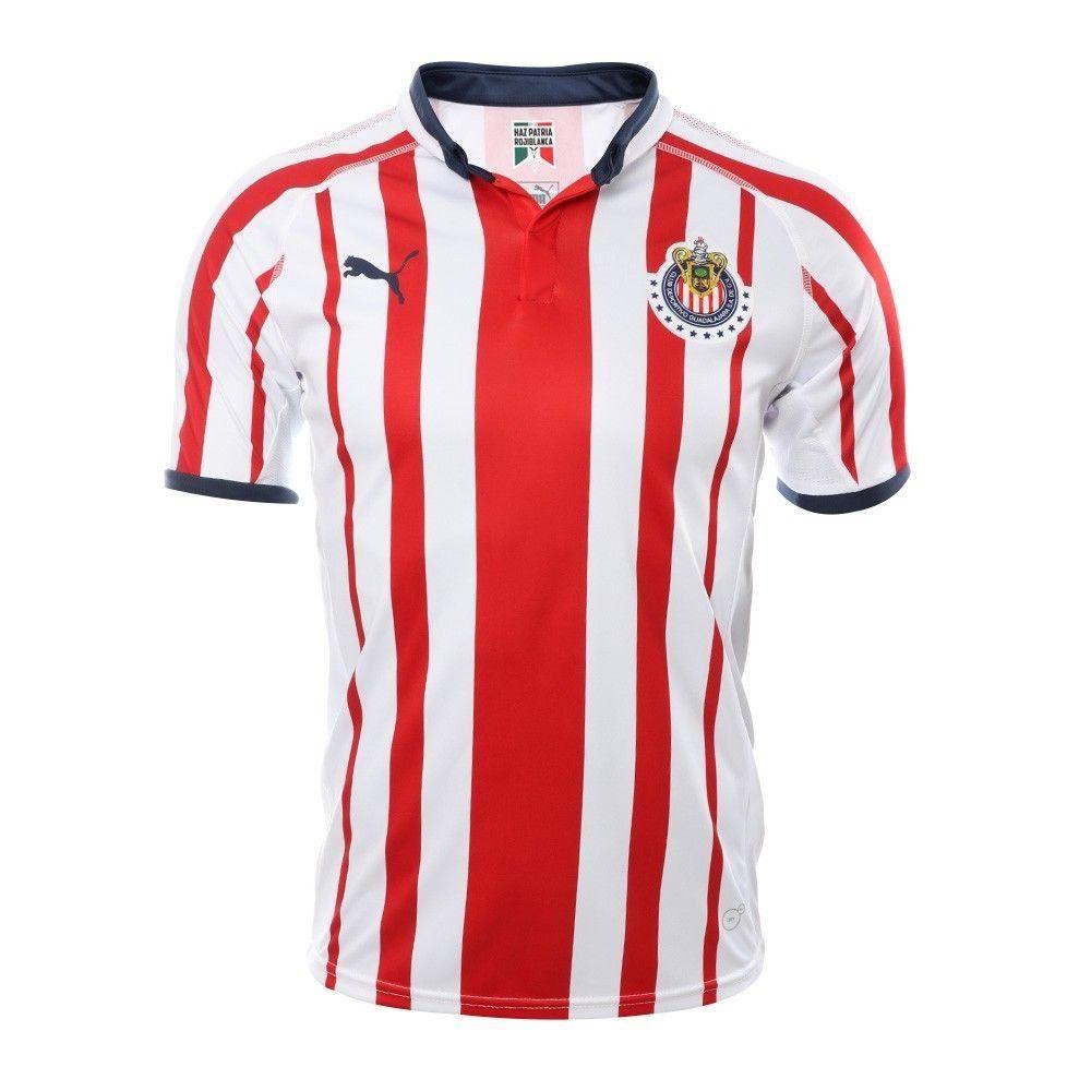 Fan Shirt Chivas Puma Home Jersey 2018 2019 Free Shipping Lfcpreseason Icc2018 Arsenal Arspsg Lfc Fcbarcelona Realmadr Chivas Camisetas De Futbol Jersey