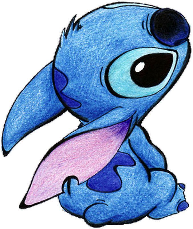 Cute Stitch Sticker By Pascalinak Cute Disney Drawings Cartoon Drawings Cute Drawings