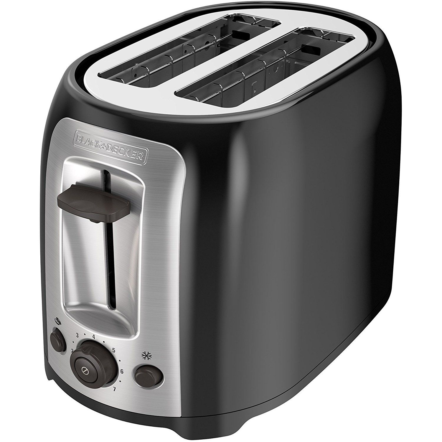 BLACK DECKER 2Slice Extra Wide Slot Toaster, Classic Oval