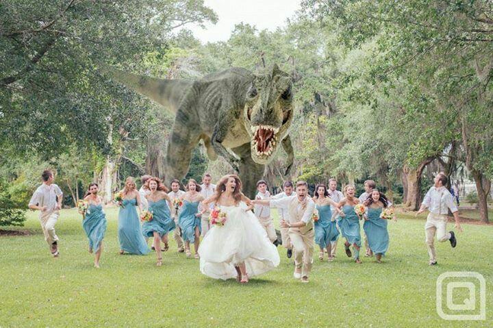 Heres an idea for the wedding photos lol