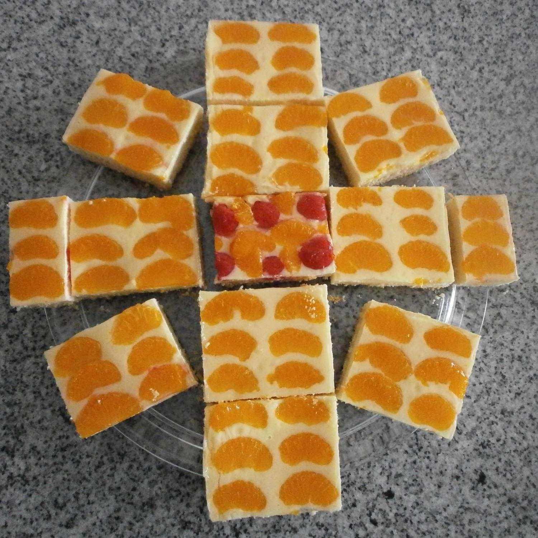 Quark Mandarinen Kuchen Vom Blech Rezept Kuchen Kuchen Kuchen