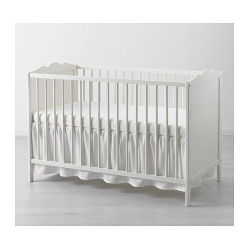 Kinderbett ikea hensvik  GONATT Crib, light gray | Cots, Nursery and Babies
