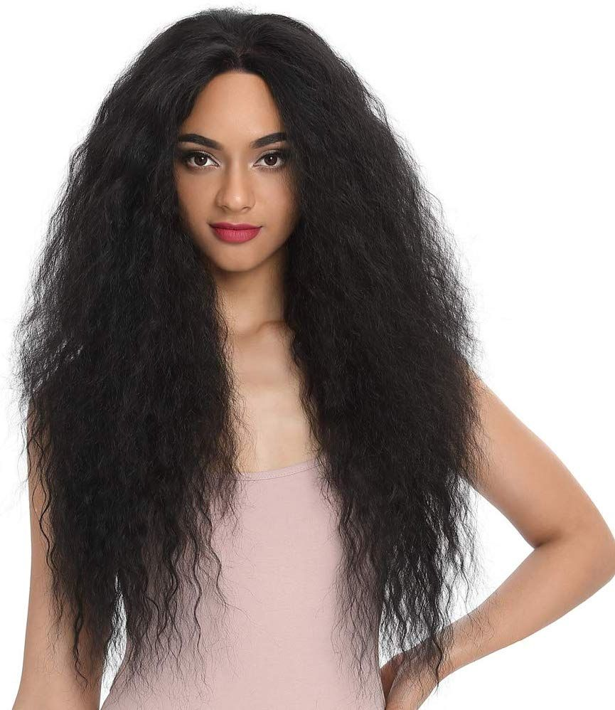 Style Icon Lace Front Wig 28 Inches 13x4 Lace Curly