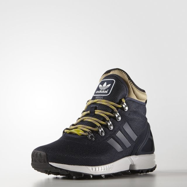 adidas ZX Flux Winter Shoes - Blue | adidas US | Winter shoes ...